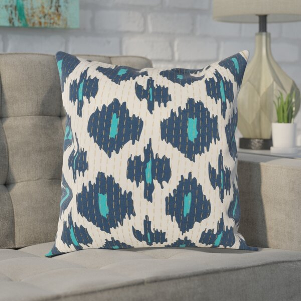 Filipina 100% Cotton Throw Pillow Cover by Mercury Row